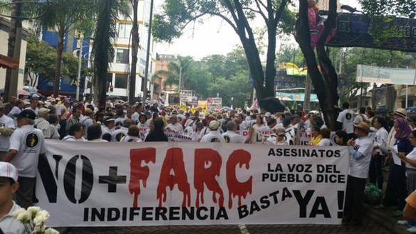 Resistencia civil en marcha