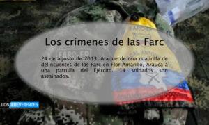 Crimen Farc