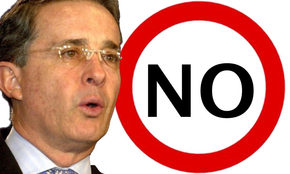 """Álvaro Uribe: """"Nuestra campaña por el NO"""""""
