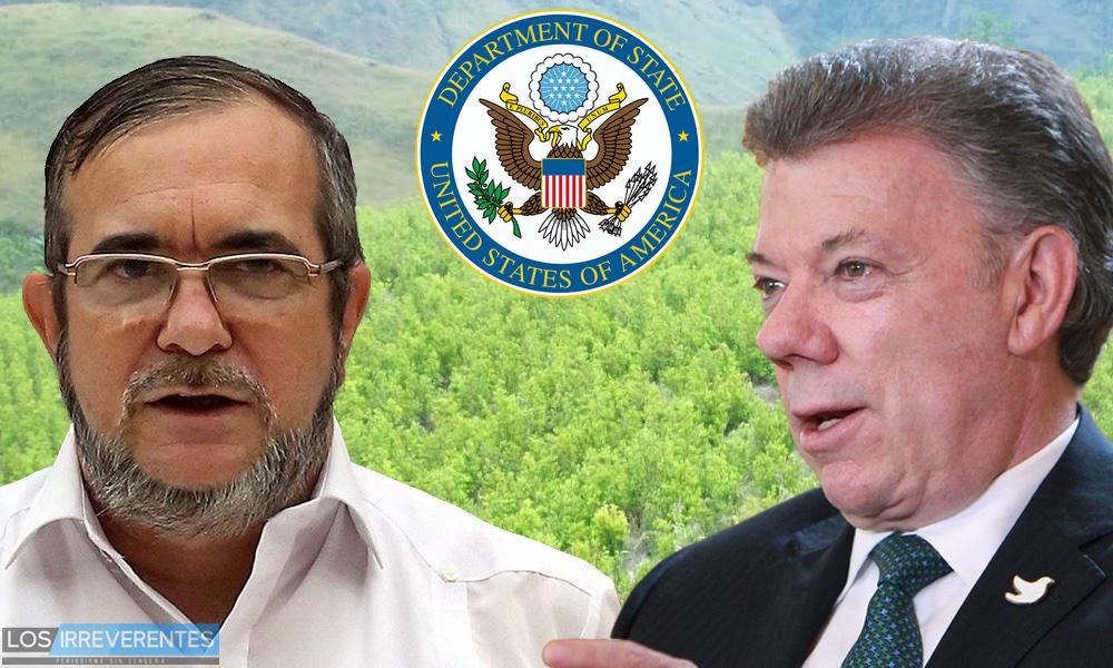 Estados Unidos confirma que Colombia es un mar de coca