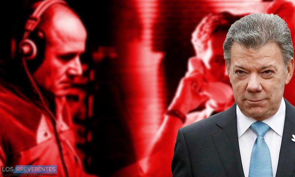 Santos espía a la oposición
