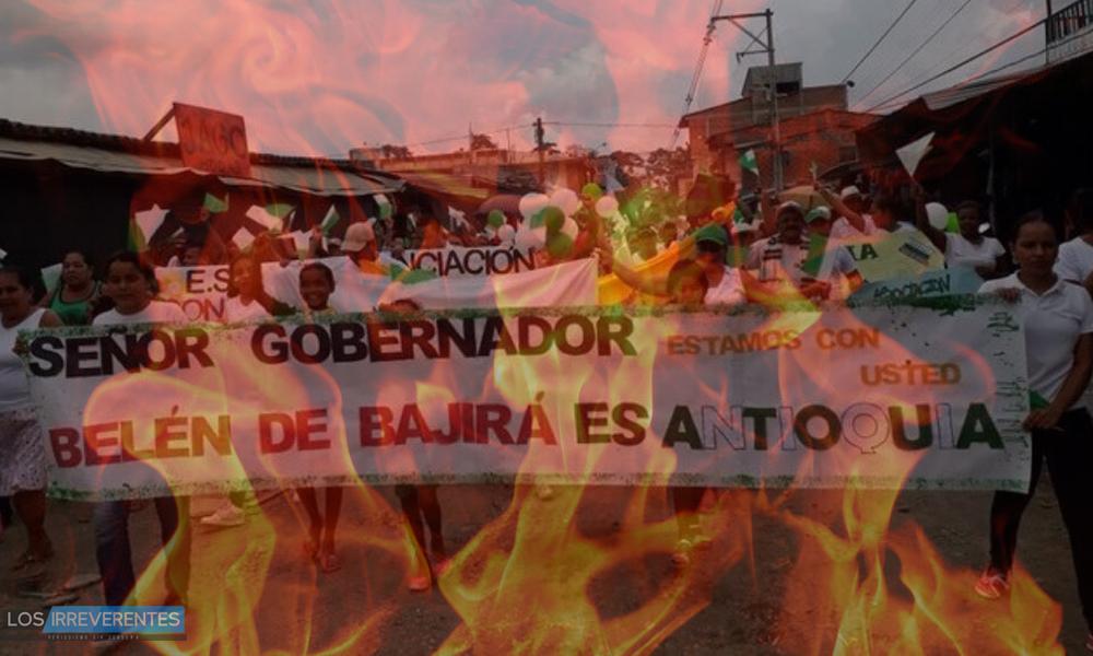 El incendio de Santos por el caso de Belén de Bajirá
