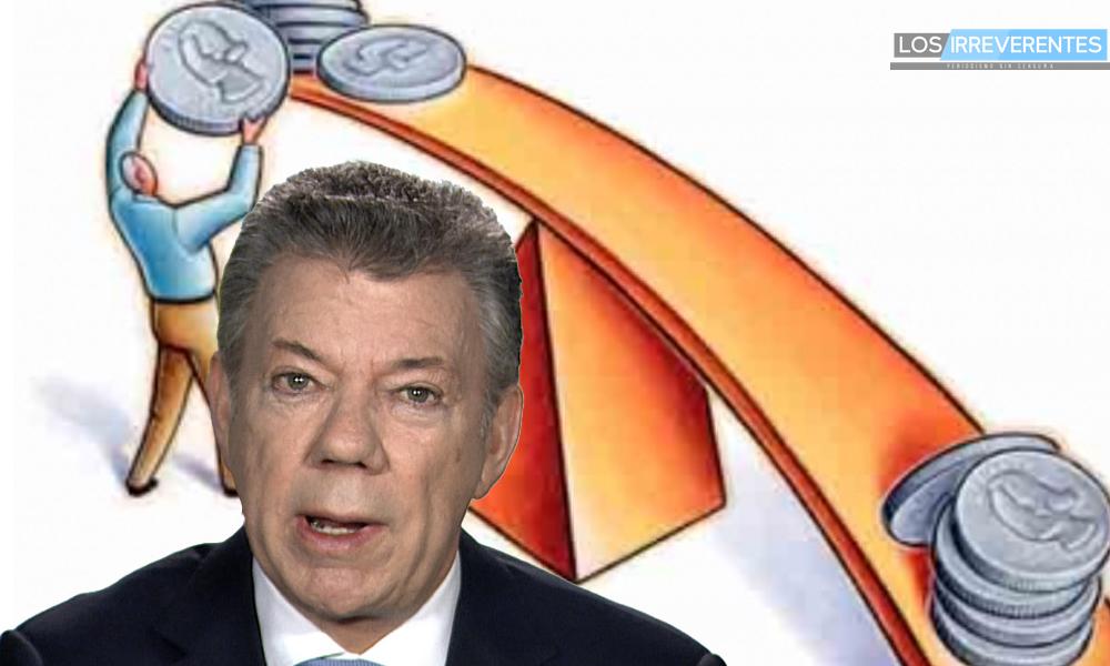 ¿Por qué se molesta Presidente Santos?