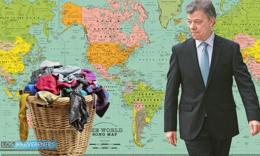 La ropa sucia se lava…donde sea