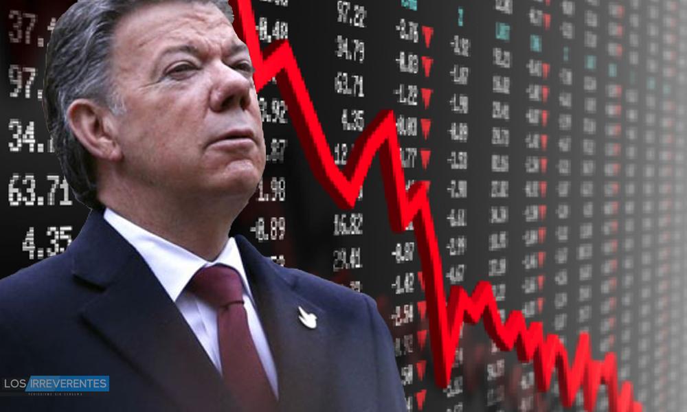 El país que va a dejar Santos
