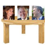 La coalición es una mesa de 3 patas