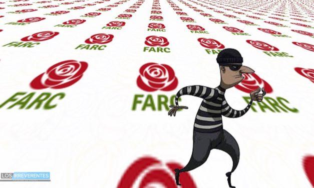 El robo de las Farc